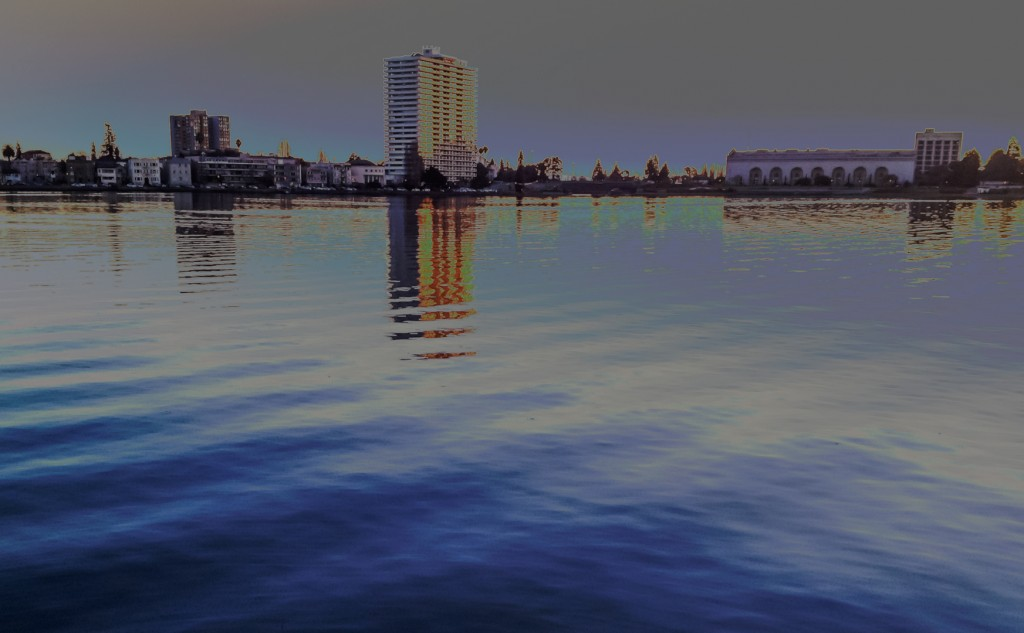 view of lake merritt with filters